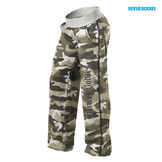 Better Bodies Camo Sot Pant, light green camoprint