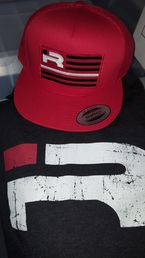 Iron Rebel Red Flag Snapback