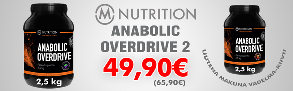 2017-01 M-Nutrition Anabolic Overdrive 2 - 2,5 kg