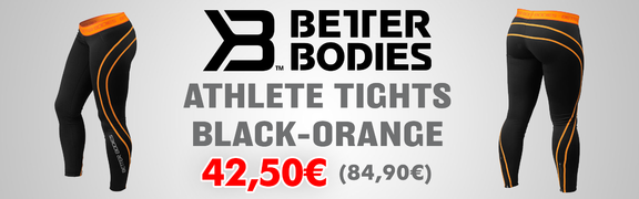 2017-06 BB Athlete Tights Black-Orange