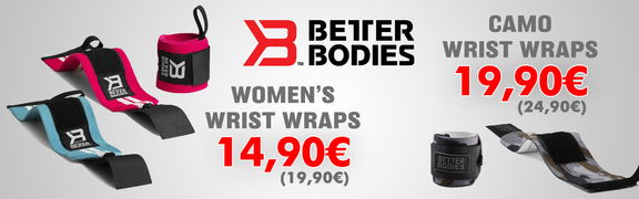 2018-03 Better Bodies Wrist Wraps