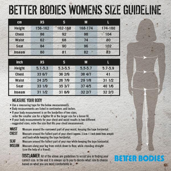 Better bodies housut kokemuksia