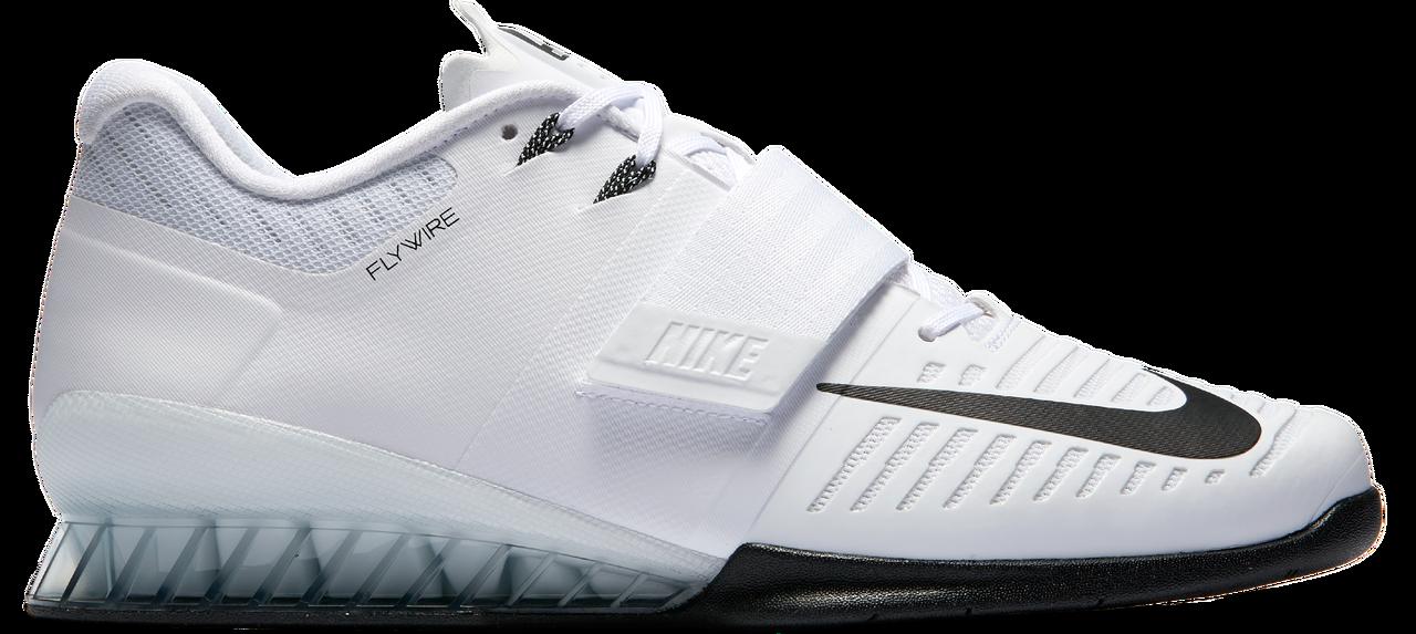 Nike Romaleos 3 R3 Painonnostokenkä 100 Valko-Musta  ff10436b98
