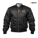 Gasp Flight Jacket, black