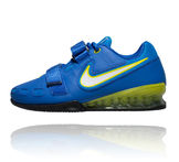 Nike Romaleos 2 Weightlifting shoe painonnostokenkä Blue Volt Yellow sininen keltainen