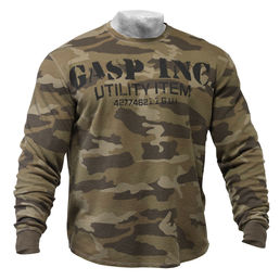 GASP Thermal Gym Sweater 220591