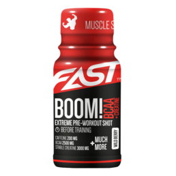Fast Muscle Series Boom! BCAA Shot (12x60ml)