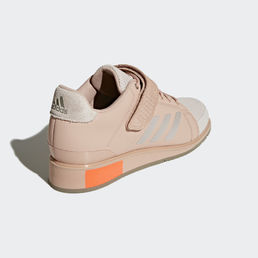 Adidas Power Perfect III - Painonnostokengät Chalk Pearl