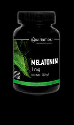 M-Nutrition Melatonin Melatoniini 1g, 100 tabl