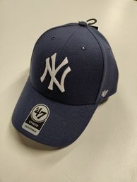 NY (New York Yankees) Clean Up Lippis  siniharmaa