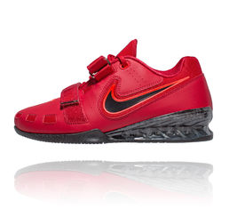 Nike Romaleos 2 Weightlifting shoe painonnostokenkä Red Punainen
