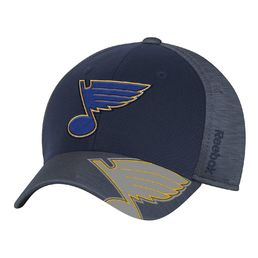 Reebok NHL St. Louis Blues Playoff Structured  FlexFit -lippis