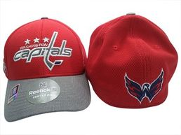 Reebok NHL Washington Capitals Playoff  FlexFit -lippis