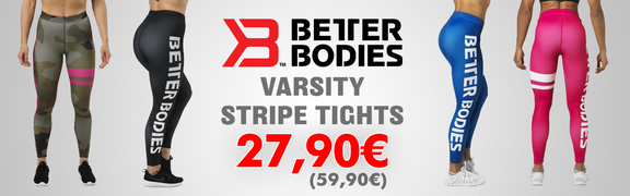 2019-02 Better Bodies Varsity Stripe Tights