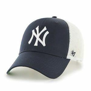 NY (New York Yankees) Lippis - Tumman Sininen   Valkoinen 99a8de0e65